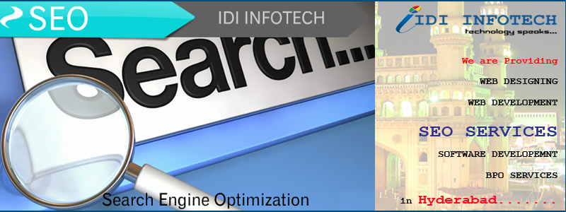 SEO Hyderabad, SEO Company Hyderabad, Search Engine Optimization Services in Hyderabad - IDI INFOTECH